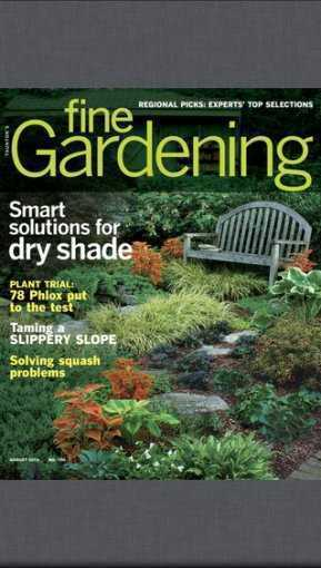 Fine Gardening Magazine Agriculture Apps Farms Com