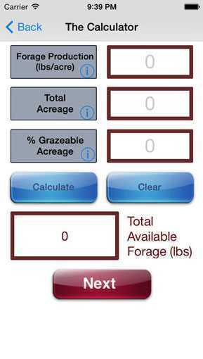 Stocking Rate Calculator for Grazing Livestock | Agriculture Apps